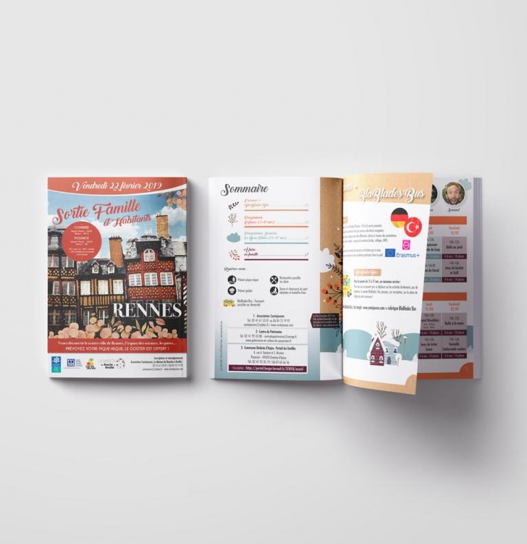 plaquettes / brochures
